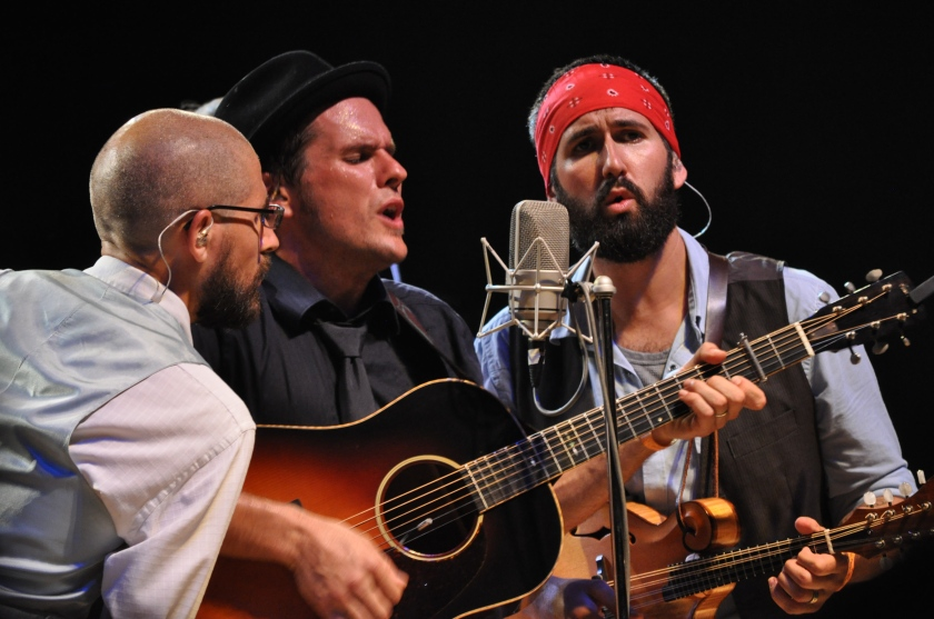 Steel Wheels on the Main Stage at Red Wing Festival 2013