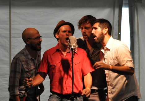 The Steel Wheels Kick Off Red Wing 2013