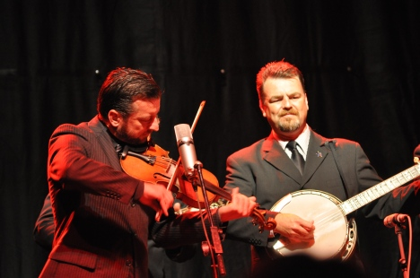 Rob McCoury and Jason Carter at Red Wing Roots Festival 2013