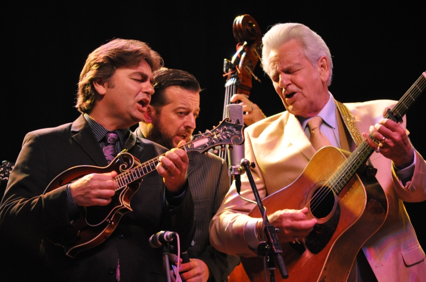 Del McCoury Closes Out Day One at Red Wing