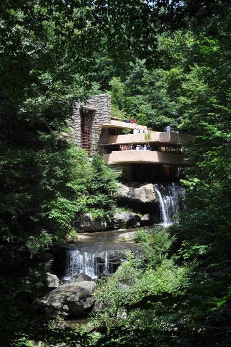 Fallingwater - The View August 2013