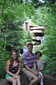 Fallingwater with Andrew and Claire August 2013
