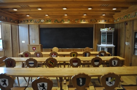 The Swiss Classroom at the Cathedral of Learning 080313