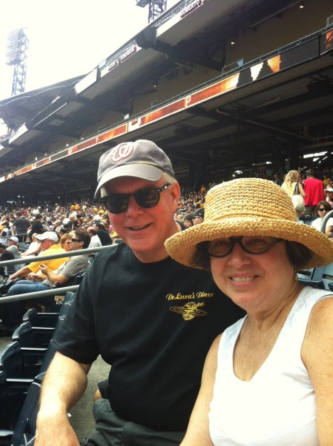 DJB and Candice at PNC Park