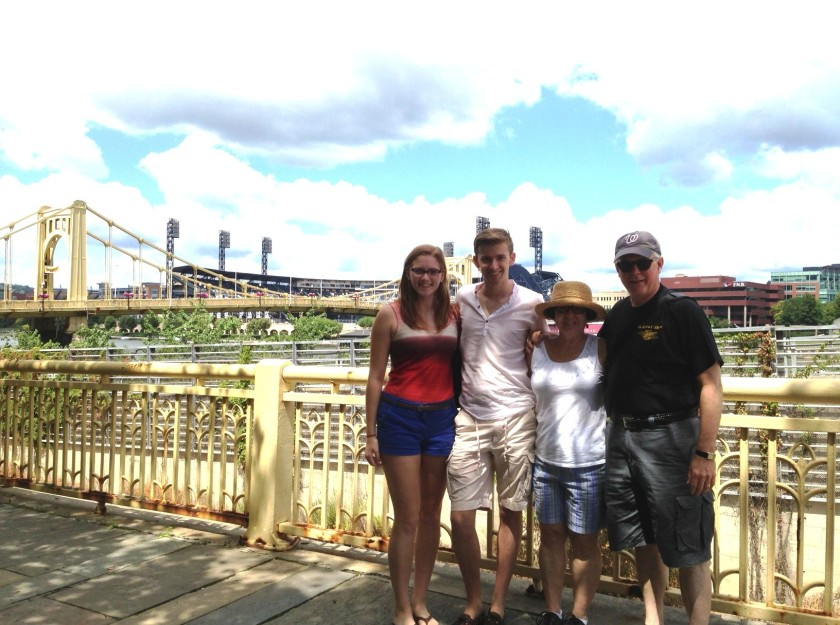 The Browns Visit PNC Stadium in Pittsburgh