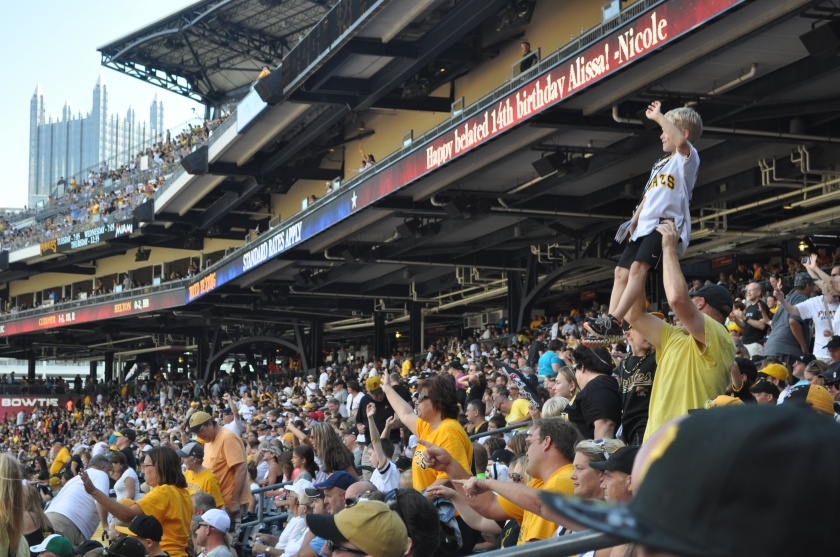 Pirate fans at PNC Stadium