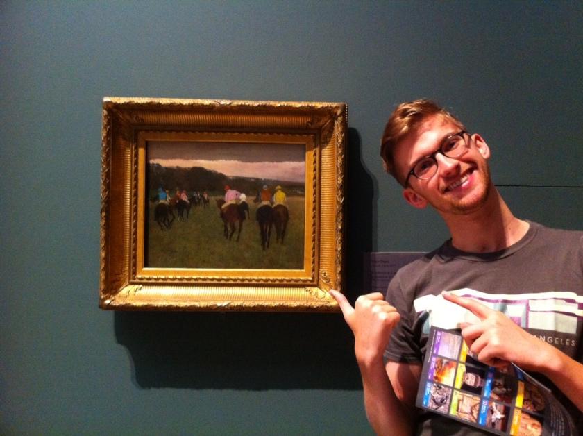 Andrew and Degas in Boston 083113