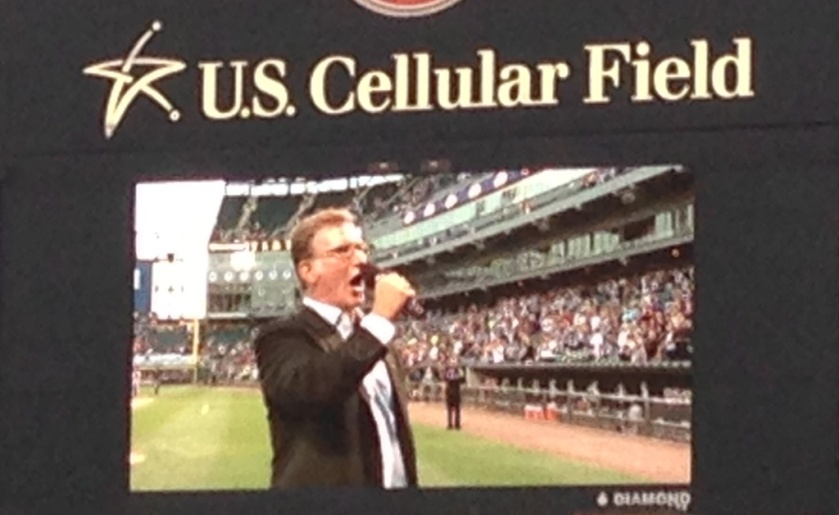 White Sox National Anthem 091013