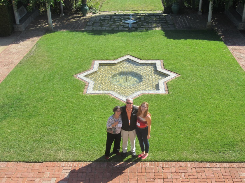 With Claire at Casa del Herrero