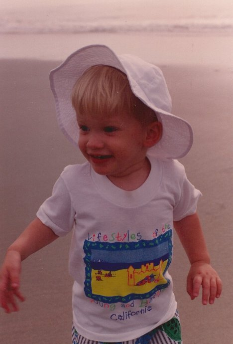 Andrew on SC Beach 1994
