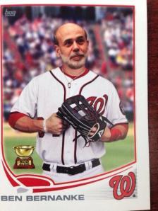 Bernanke Baseball Card