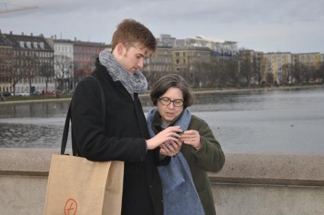 Andrew and Candice explore Copenhagen