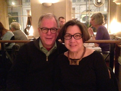 Candice and David 32nd Anniversary in Copenhagen