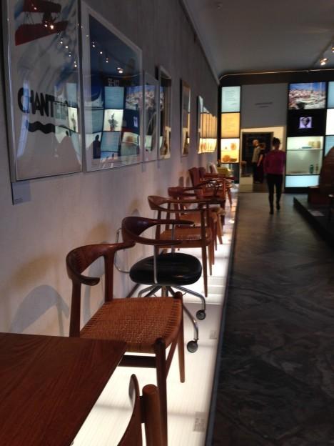 Copenhagen Design Museum Chairs