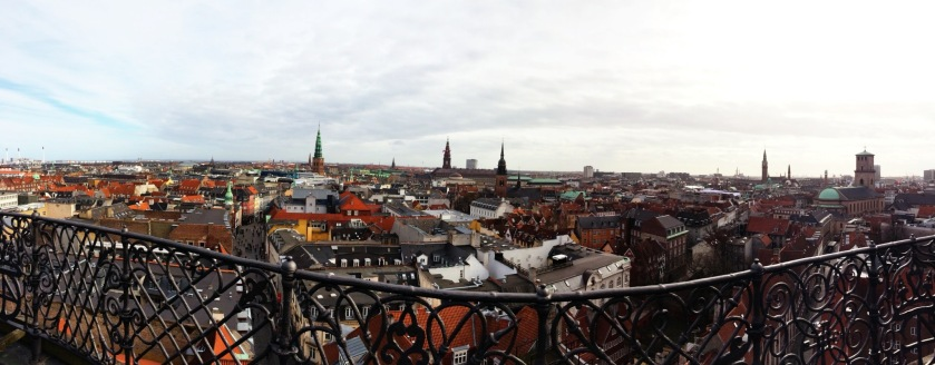 Copenhagen from the Round Tower