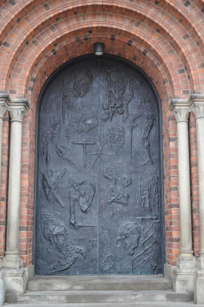 Roskilde Cathedral Main Door
