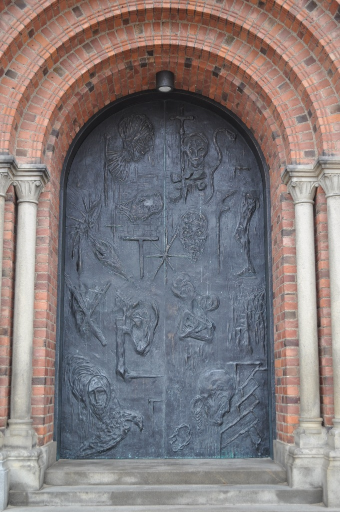 Roskilde Cathedral Main Door