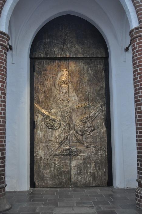 Roskilde Cathedral Interior Door