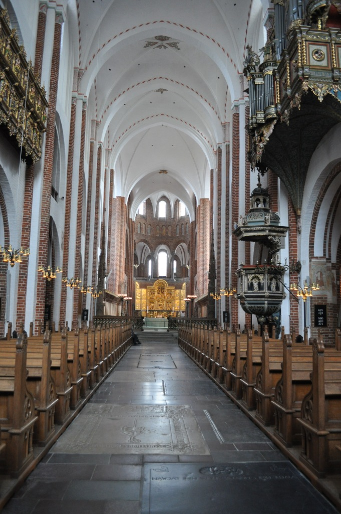 Roskilde Cathedral Nave