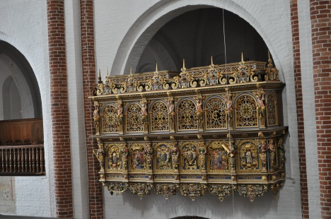 Christian IV's box, Roskilde Cathedral