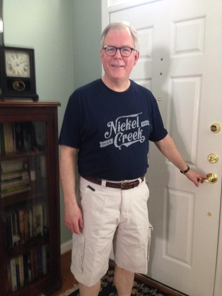 Nickel Creek Reunion Tour t-shirt