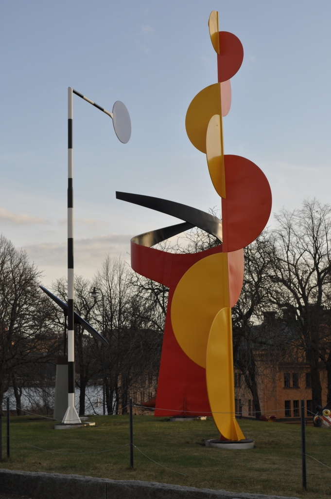 Calder's The Four Elements, March 2014