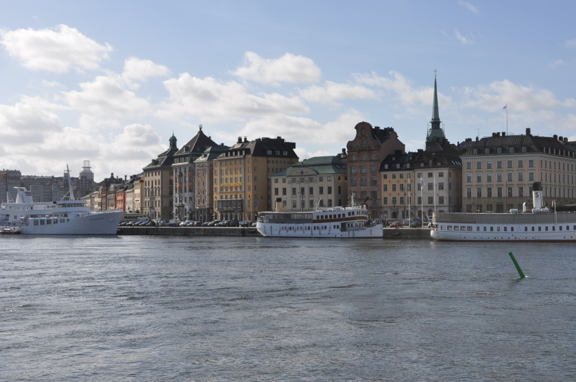 Stockholm Cityscape from the Water March 2014