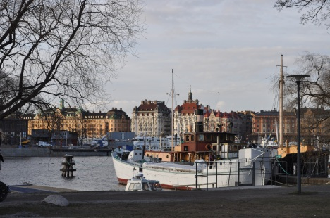 Stockholm City View March 2014