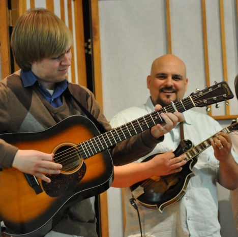 Frank Solivan and Chris Luquette