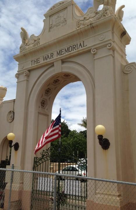 Natatorium Arch