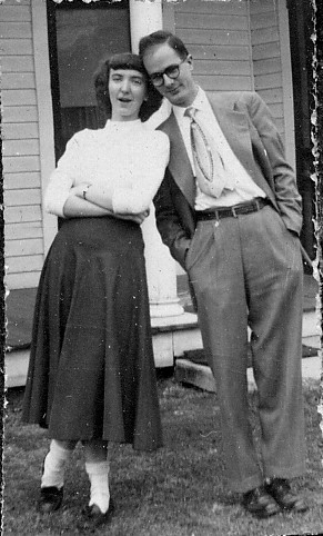 Helen and Tom Brown, 1950
