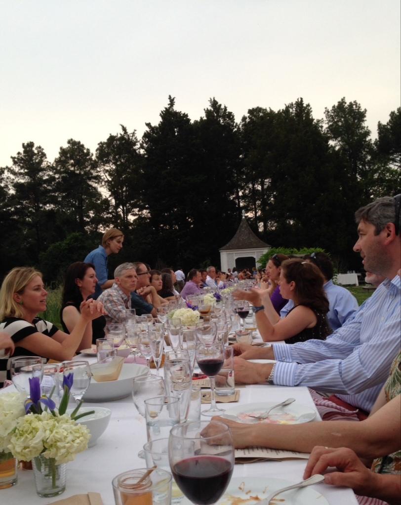 Arcadia Farm Dinner June 2014