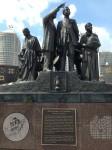 Underground Railroad Memorial in Detroit