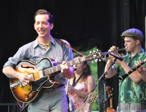 Pokey LaFarge at Red Wing Roots Music Festival 07 11 14