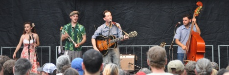 Pokey LaFarge at Red Wing 07 11 14