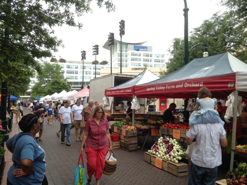 Silver Spring Farmers Market 07 19 14