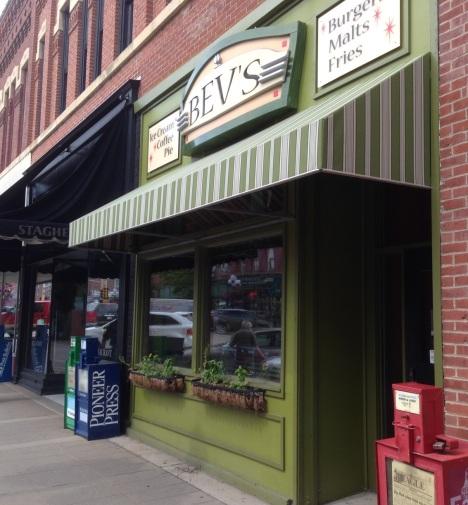Bev's Cafe in Red Wing