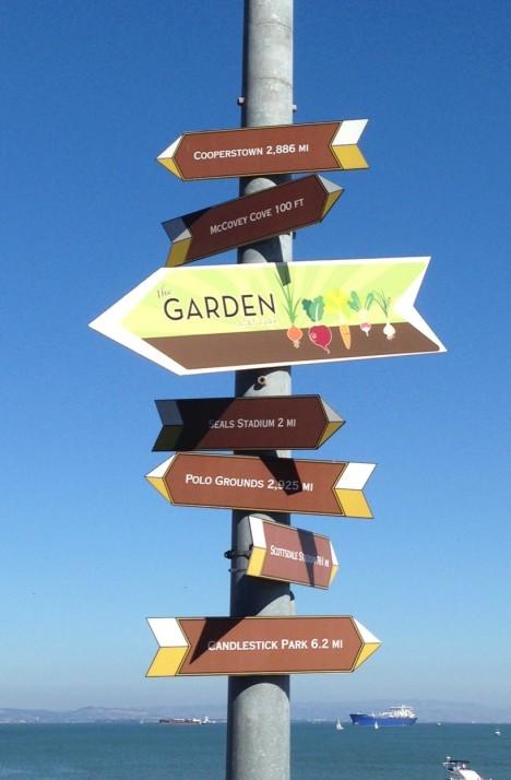 Signs at AT&T Park
