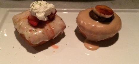 Chalkboard doughnuts