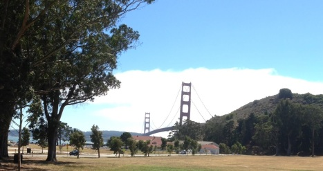 Golden Gate from Cavallo Point