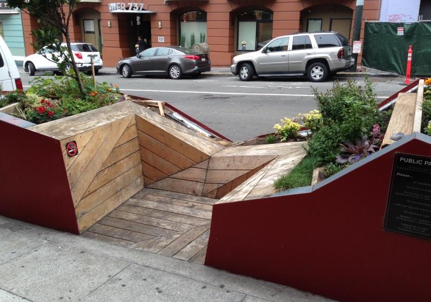 Public Parklet in SF