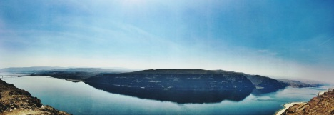 Columbia River panorama