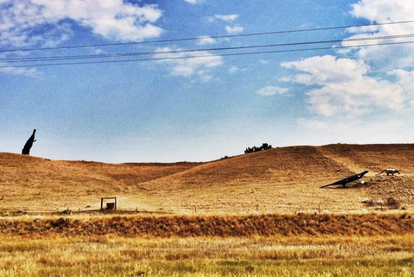 Dinosuers on the Montana Landscape