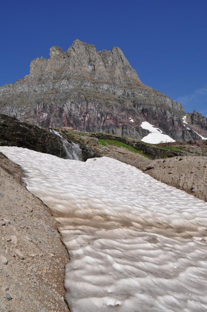 Glacier National Park snow pack