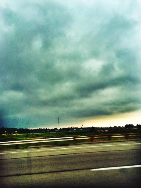 Ominous Ohio weather