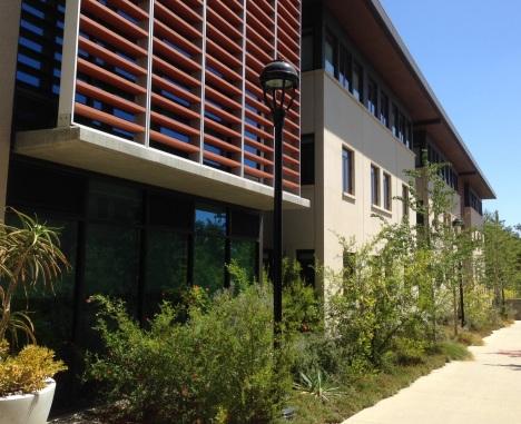 Pomona Hall exterior