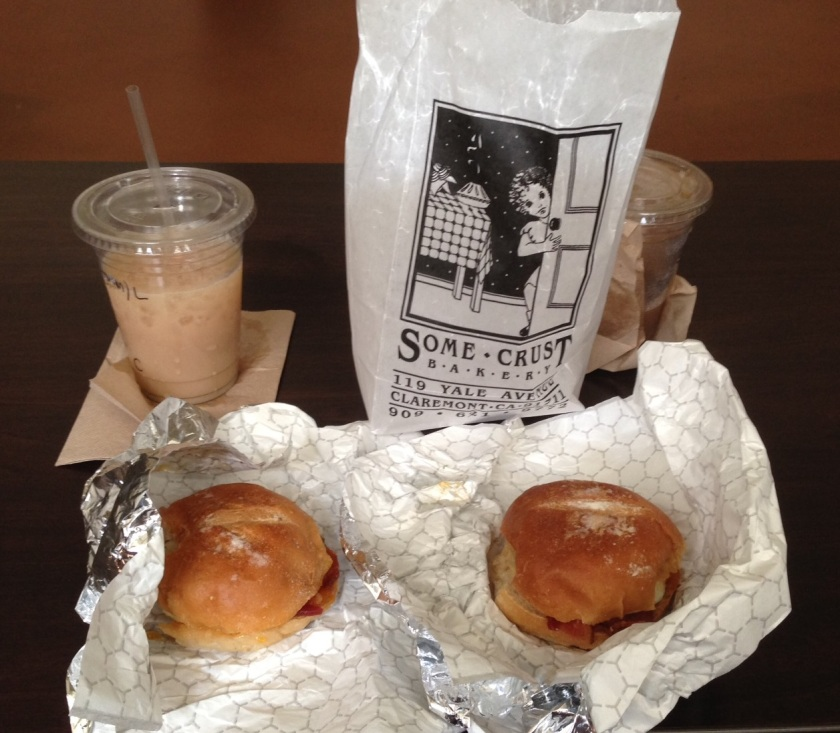 Sliders at Some Crust Bakery