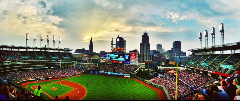 Progressive Field Panorama