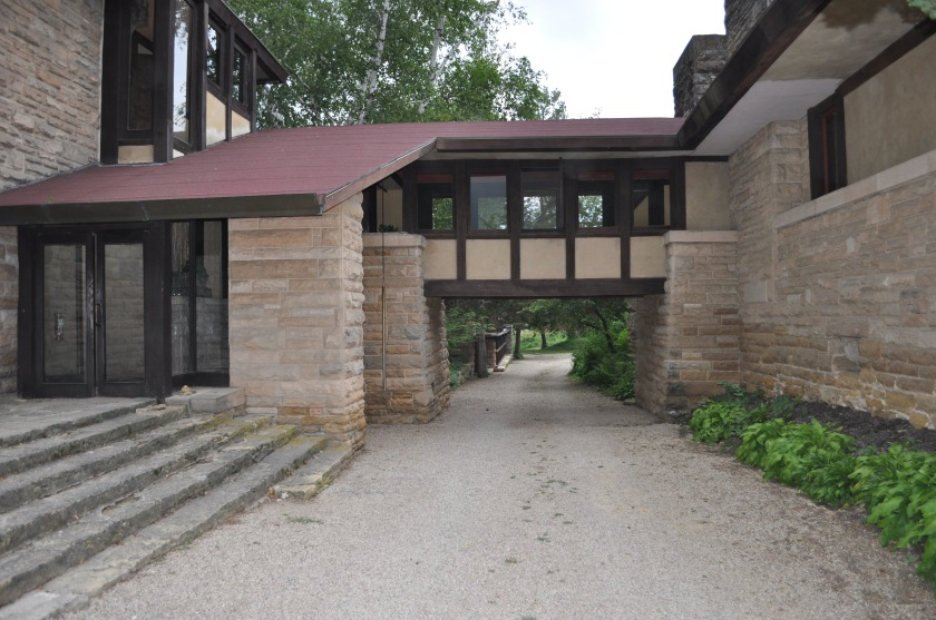 The Entrance to Hillside at Taliesin