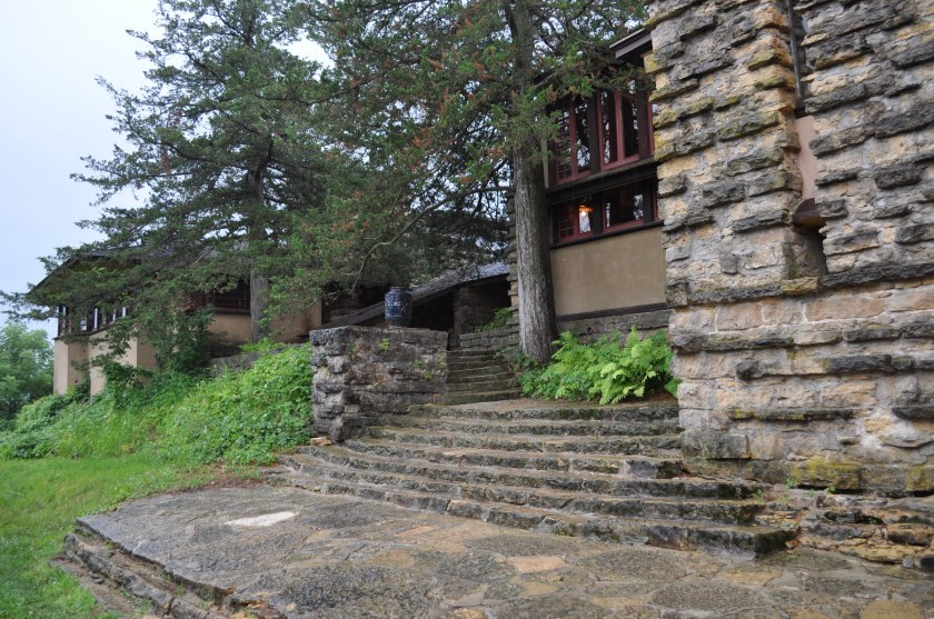 Entranceway to the house at Taliesin 08 04 14